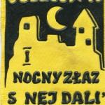 Plakietka I NOCNY ZŁAZ SINEJ DALI Sulejów 1970