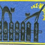 Plakietka V ZŁAZ NOCNY SZCZAWIN 1974