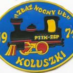 Plakietka Złaz Nocny UŁ KOLUSZKI 1971
