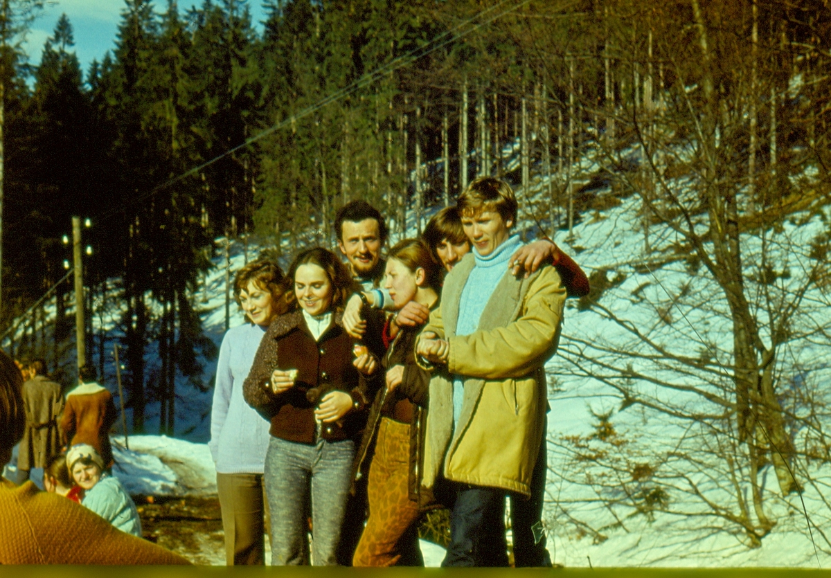 Almatur Łódź-Wisła 1974r.